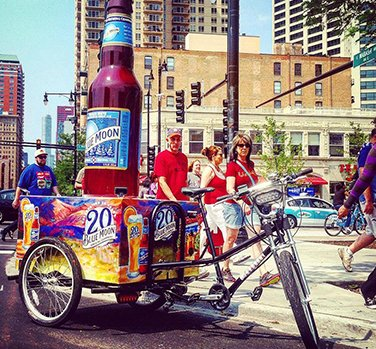Blue Moon Bottle Bike